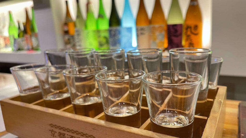 tasting set sake - kyoto
